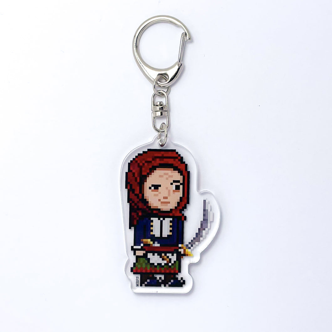 The Greek Heroes of 1821 - Laskarina Bouboulina Keychain
