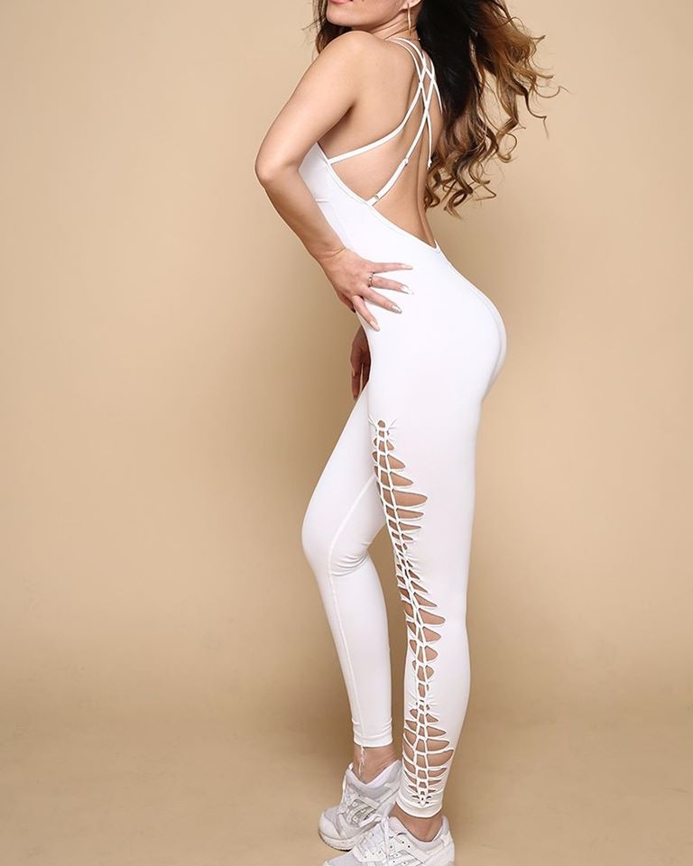 Fashion White Jumpsuit