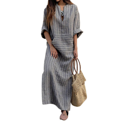Vertical Loose Dress