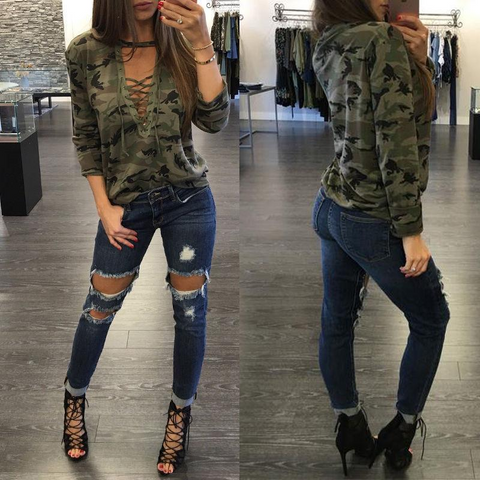 Camouflage Long Sleeve T-shirt1