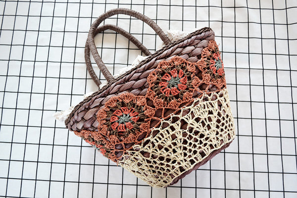 Sweet Fashion Straw Bag