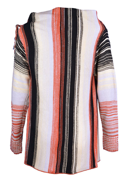 Fashion Irregular Striped Sweater