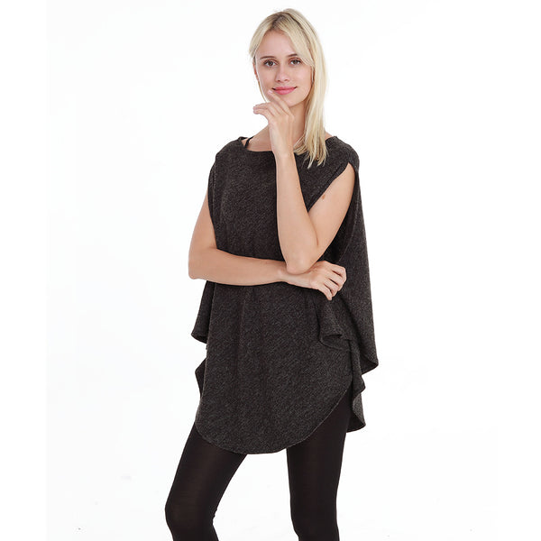 Fashion Split-Sleeve Top