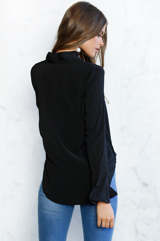 Knotted T-Shirt Top