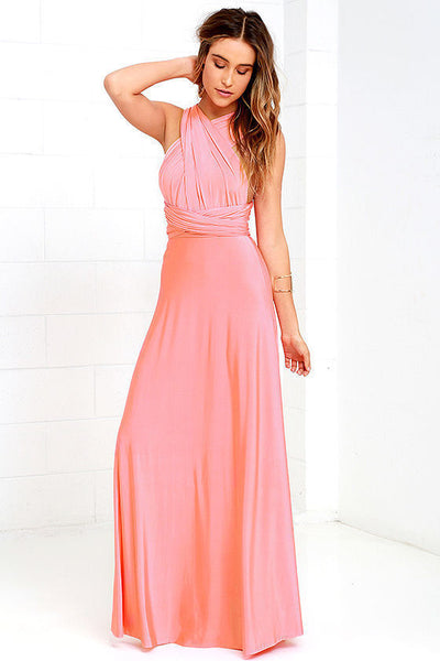 Multi-Wear Sexy Bandage Maxi Dress