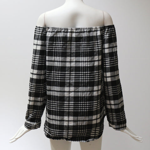 Plaid Shirt Long Sleeve
