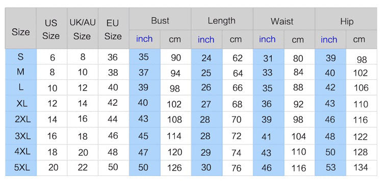 size chart for be the light shirt