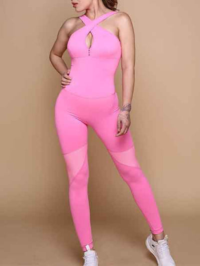 Sweet Cute Pink Jumpsuit