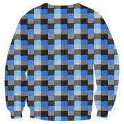 Interesting 3D Simulation Men's Plaid Shirt