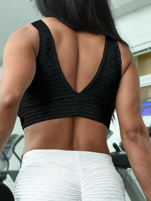 Breathable Mesh Sports Bras