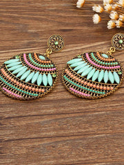 4 Colors Fashion Bohemia Hollow Earrings