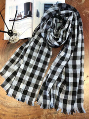 Colorful Plaid Comfortable Shawl Scarf