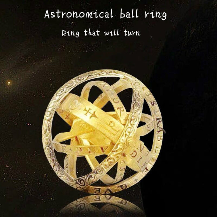 Special Astronomical Sphere Ball Ring
