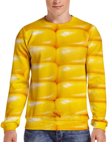 Funny Corn 3D Simulation Men & Women's Shirt