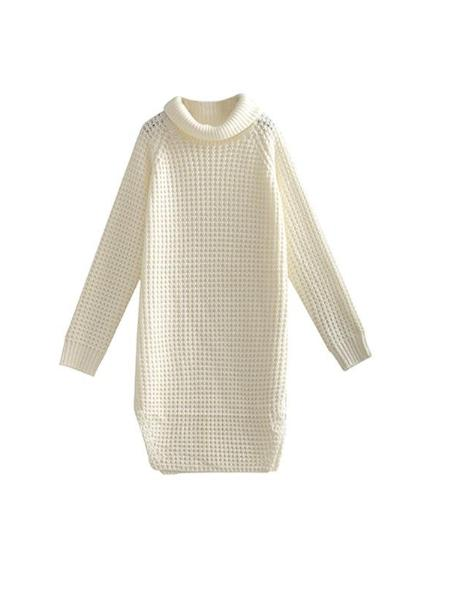 High Collar Women's Sweater