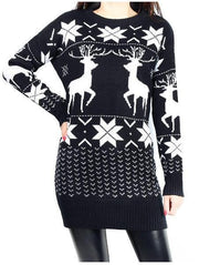 Christmas Wool Sweater Dress