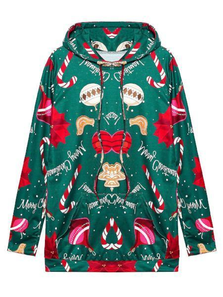 Christmas Lady Hooded Sweater