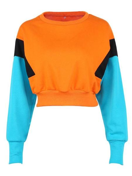 Candy-Colored Navel Sweater