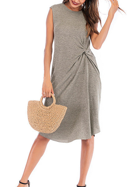 Casual Loose Irregular Dress