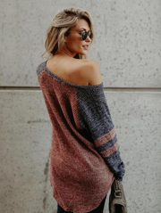 Casual Off Shoulder Sweater