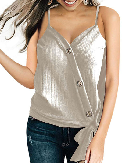 Casual V-Neck Cami