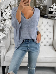 Chic Casual Loose Sweater