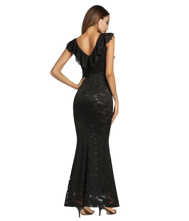 Elegant Evening Maxi Dress