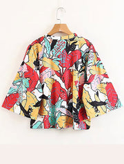 Fashion Chic Print Shirt