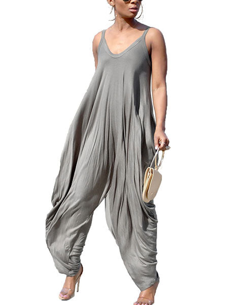 Fashion Loose Casual Jumpsuit