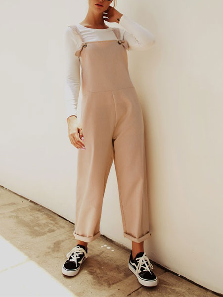 Fashion Wide-Leg Jumpsuit