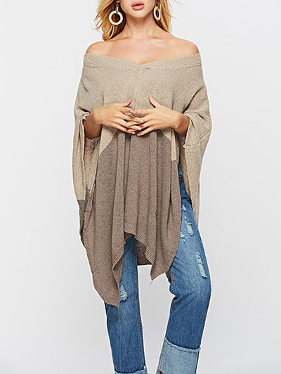 Fashion Women Irregular Sweater
