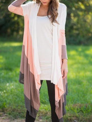 Sweet Colorblock Cardigan