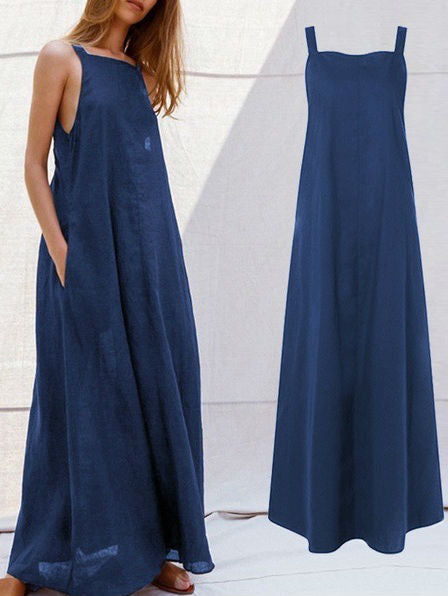 Fashion Loose Maxi Cami Dress