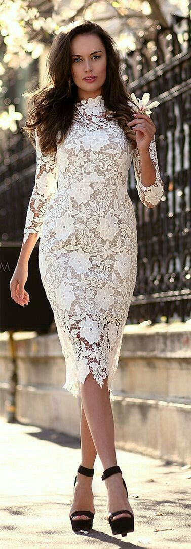 Long Sleeve Lace Bodycon Dress