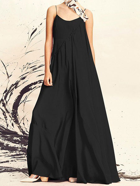 Chic Loose Cami Maxi Dress