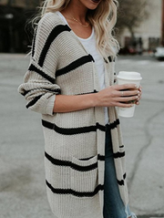Loose Fashion Large Size Cardigan Sweater