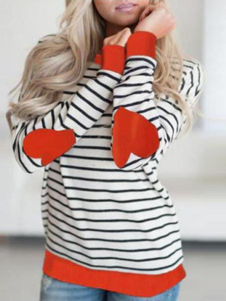 Love Striped Long Sleeve T-Shirt