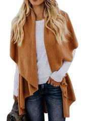 Irregular Casual Cardigan Coat