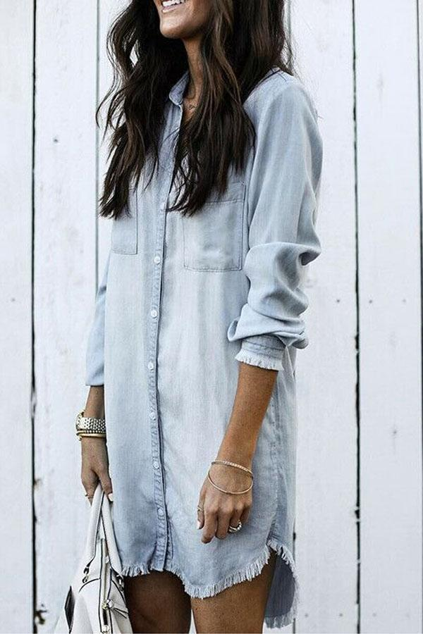 Fashion Denim Shirt