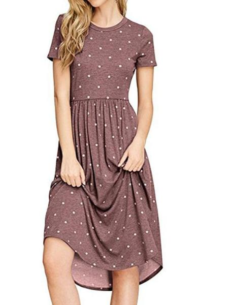Polka Dot Printed Dresses