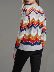 Rainbow Striped Sweater