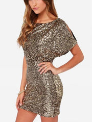 Sequin Bodycon Mini Dress