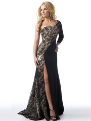 Sexy Lace Evening Dress
