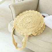 Straw Vacation Beach Bag