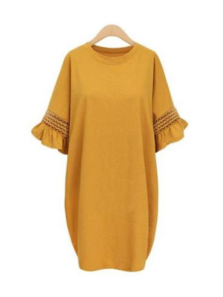 Sweet Women's Loose Casual Long Dress