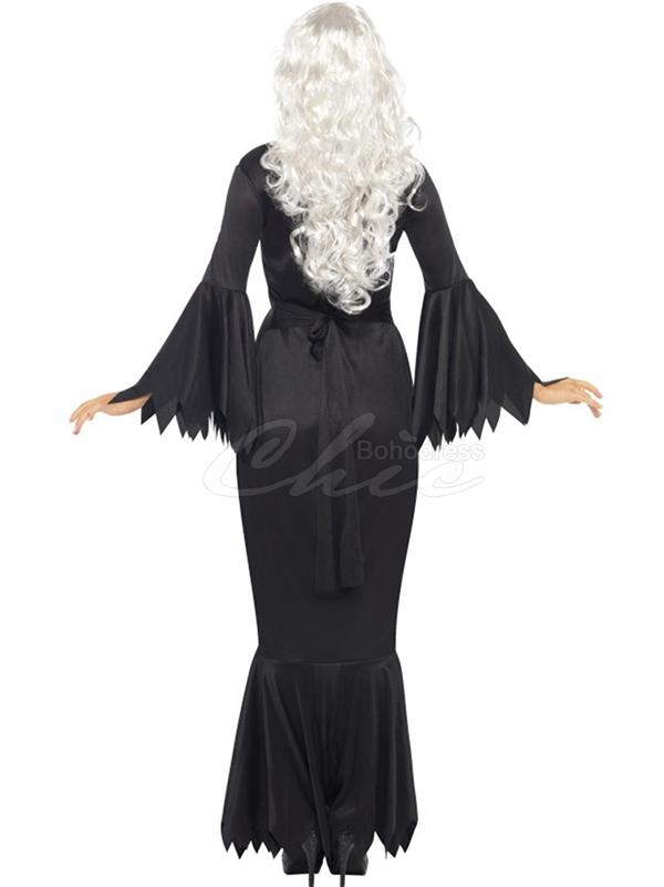 Solid Cosplay Ghost Halloween Dress