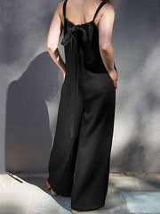 Fashion 2 Colors Wide Leg Jumpsuit