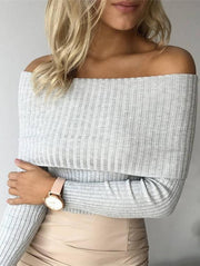 Sexy Tight Knit Sweater