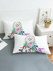Dreamcatch Pattern Printed Twain Pillow Case