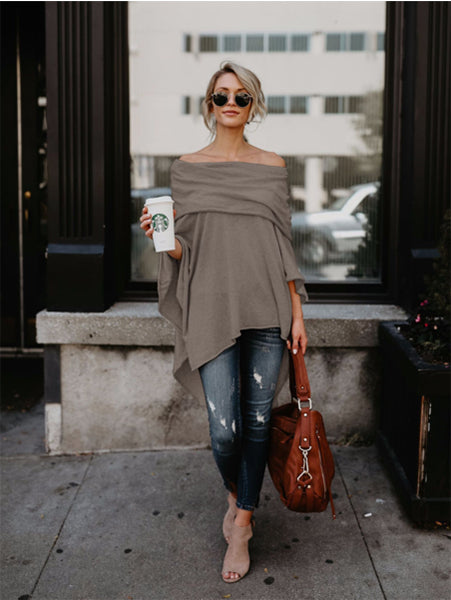 Casual Off Shoulder T-Shirt